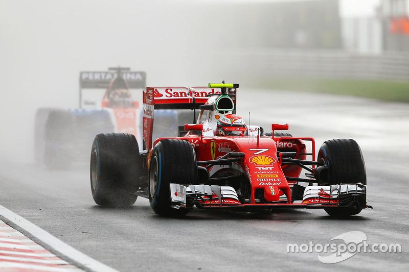 14: Kimi Raikkonen, Ferrari SF16-H