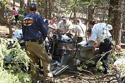 Paul Dallenbach's Crash!