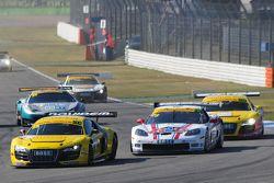 ADAC GT Masters Race 2 - Winkelhock / von Menthlen passing Alessi / Keilwitz
