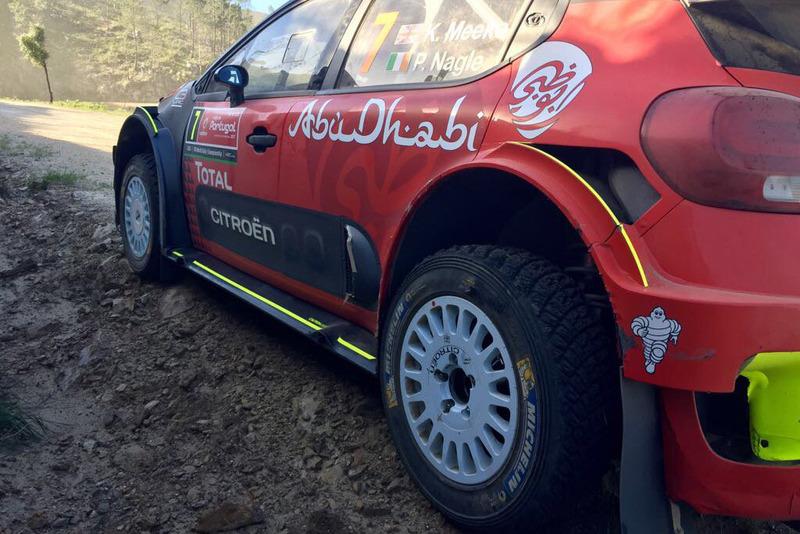 Сход: Крис Мик и Пол Нейгл, Citroën C3 WRC