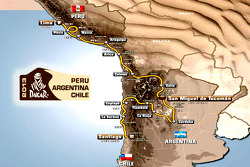 2013 Dakar - The Route