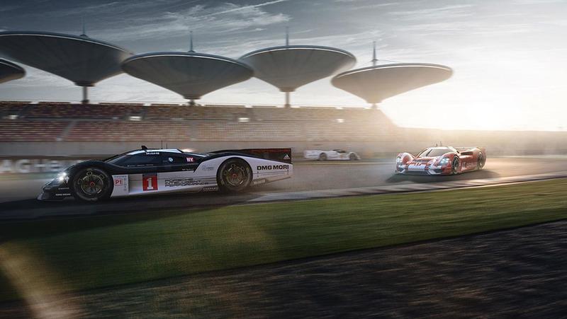 Концепт Porsche 908