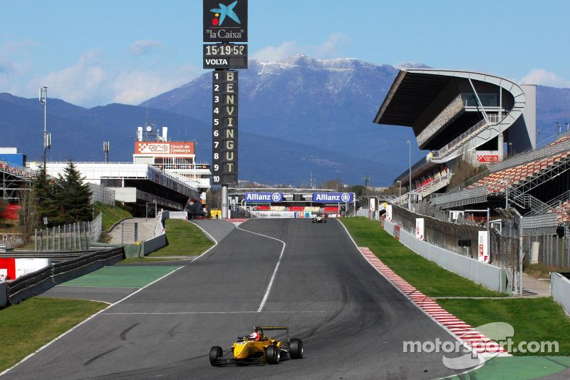 Barcelona Winter Series Test