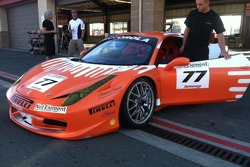#77 AGM Ferrari & crew member Don Cameron