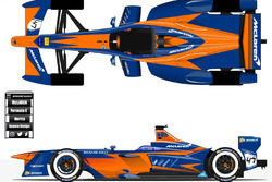 Mclaren Formula e concept called the McLaren Hakkinen.