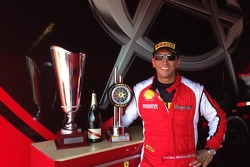 Carlos & his COTA Ferrari Challenge NA Trophies