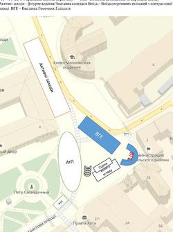 Схема - Котрактовая площа
