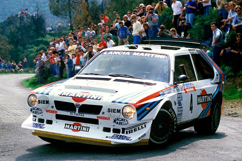 Хенри Тойвонен и Серджио Кресто. Ралли Tour de Corse 1986 года