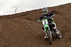 Kawasaki rider Teddy Maier #5 takes a 6th overall