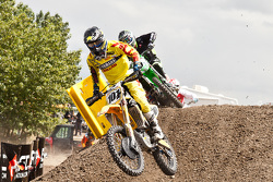 Team Rockstar Energy OTSFF Yamaha rider Matt Goerke #101 takes over the MX1 series points lead