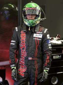 Scott Sharp, driver change practice