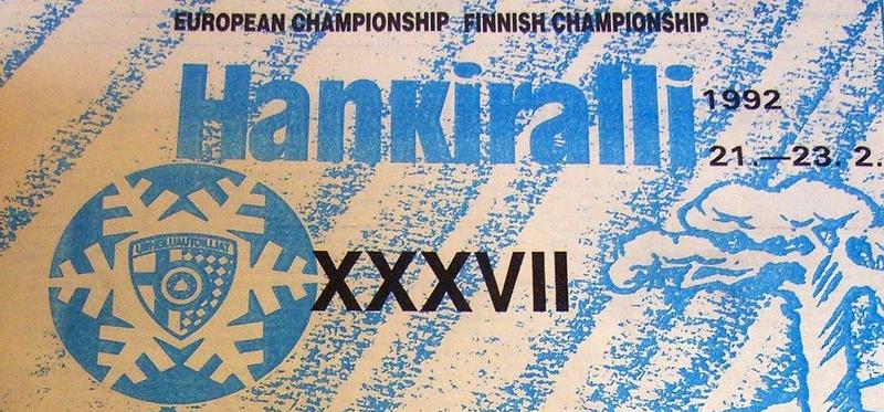 Афиша Hankiralli 1992