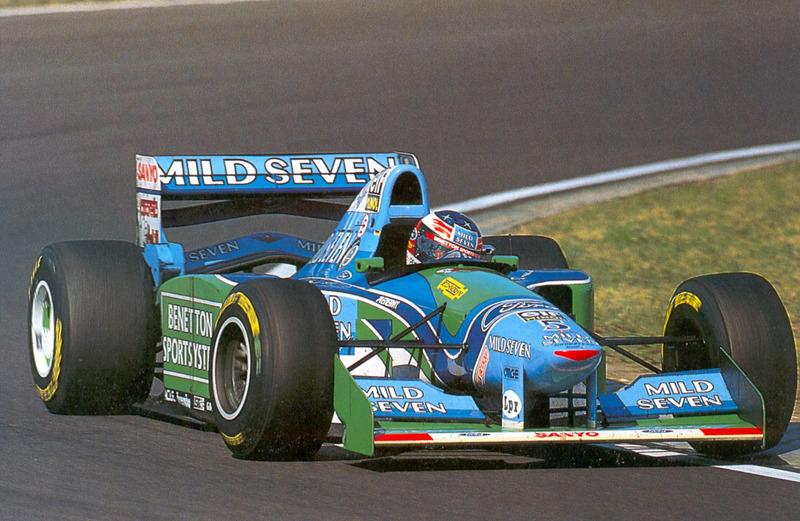 Михаэль Шумахер, Benetton