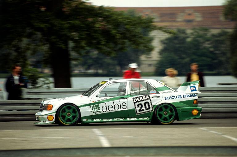 Михаэль Шумахер, Mercedes 190E 2.5-16 Evo II, Норисринг-1991