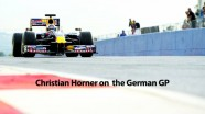 Formula 1 2011 - Red Bull Racing - Christian Horner Interview after German GP