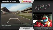 On-board of the Ferrari 458 Challenge: Maurizio Mediani in Mugello