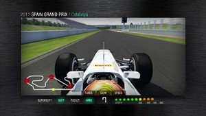 2011 Formula 1 Spanish GP - 3D Simulation