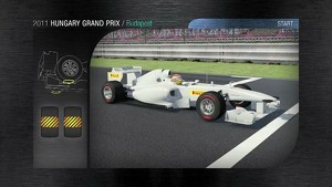 2011 Formula 1 Hungarian GP - 3D Simulation