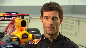 Red Bull Racing 2012 - RB8 Launch - Interview Mark Webber