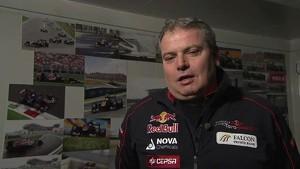 Toro Rosso 2012 - STR7 Launch - Interview Giorgio Ascanelli