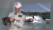 Michael Schumacher and the F1 Steering Wheel