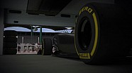 2012 Formula 1 Grand Prix of Hungary - Pirelli 3D Simulation