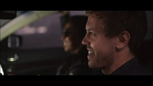 'Watch Me Work' music video starring Sebastian Vettel