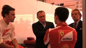 Scuderia Ferrari 2012 - Italian GP Preview - Stefano Domenicali