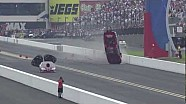 NHRA Shane Gray's wild ride at zMAX Dragway