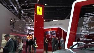 Ferrari at the 2012 Paris Autoshow