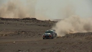 Nasser Al-Attiyah after Qatar Rally