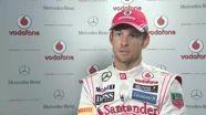 Jenson Button - Vodafone McLaren Mercedes MP4-28 car reveal