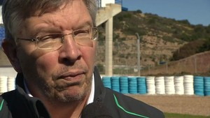 2013 Mercedes AMG Petronas W04 Car Launch - Ross Brawn