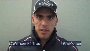 Pastor Maldonado previews the Chinese GP by answering Twitter questions @WilliamsF1Team