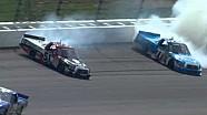 Quiroga and Busch crash!!