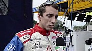 Justin Wilson Post Qualifying Detroit