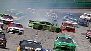Kyle Busch With an Amazing Save on Lap 43   NASCAR Kentucky Quaker State 400
