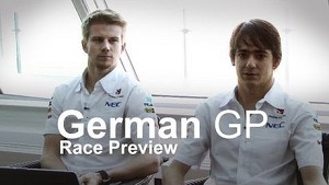 2013 German GP - Race Preview / Ask the Driver - Sauber F1 Team