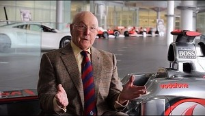 Murray Walker looks back at 50 years of McLaren