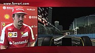 Singapore GP - A track lap with Fernando Alonso