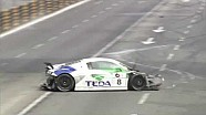 Alex Yoong massive crash at Audi R8 LMS Cup qualifying in Macau