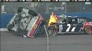 2008 Nascar Sprint Cup California Casey Mears Flip