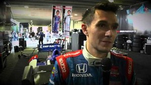 Mikhail Aleshin; Highest finishing rookie in St. Pete.