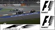 F1 Bahrain 2014 - Pastor Maldonado and Esteban Gutierrez BIG CRASH