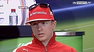 F1 2014 Monaco GP: Kimi Raikkonen at his best during the drivers press conference