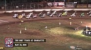 Highlights: World of Outlaws STP Sprint Cars The Dirt Track at Charlotte May 23rd, 2014