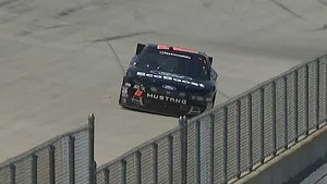 Chris Buescher makes an amazing save at Dover