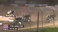 Highlights: World of Outlaws STP Sprint Cars Attica Raceway Park May 30th, 2014
