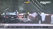Massive crash on final lap of Canadian GP:  Massa & Perez