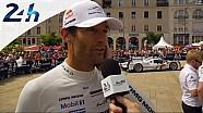 Le Mans 2014 - Mark Webber (Porsche) - First impressions